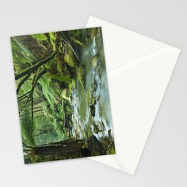 River through lush rainforest in Great Otway NP, Victoria, Australia Stationery Cards