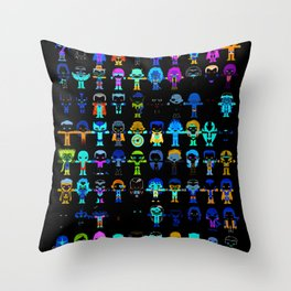 THE ULTIMATE 'AVENGER'S' ROBOTIC COLLECTION Throw Pillow