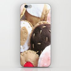 Felt Cookies iPhone & iPod Skin