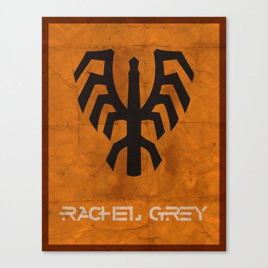 Minimalist Rachel Grey Canvas Print