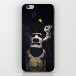 Listening to the Cosmos iPhone Skin