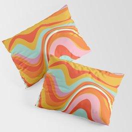 Mushy Rainbow Pillow Sham