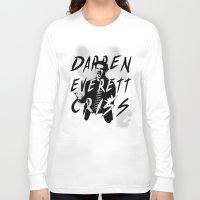 darren criss Long Sleeve T-shirts featuring Darren Criss by kltj11
