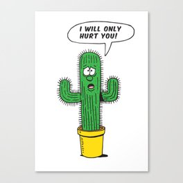 The life of a cactus.  Canvas Print