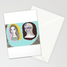 The Triplets Stationery Cards