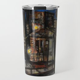 Classical African-American Masterpiece 'Harlem at Midnight' by Charles Alston Travel Mug