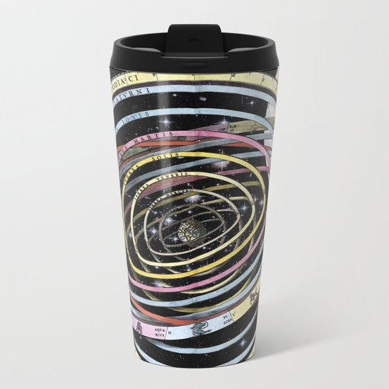 The time of the seasons and the constellations Metal Travel Mug