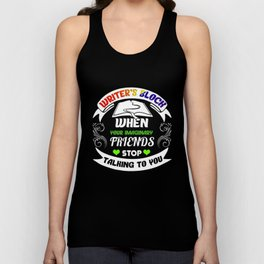 Writer's Block and Imaginary Friends Unisex Tank Top