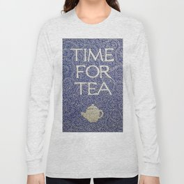 Time For Tea 2017 Long Sleeve T-shirt