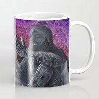 atlas Mugs featuring Atlas by Drake Arnold Art
