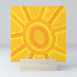 Here Comes the Sun! Mini Art Print