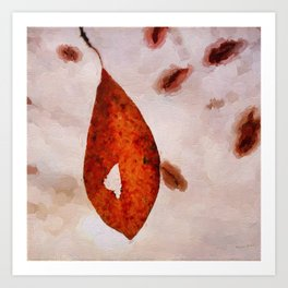 Leaves of AutumnII Art Print