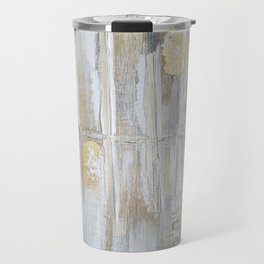 Metallic Abstract Travel Mug
