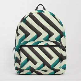 Cyan Maze Backpack