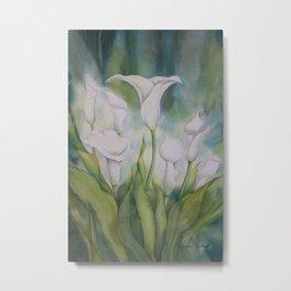 Calla Lilies Dream Metal Print