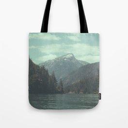 The departure - Diablo Lake Tote Bag