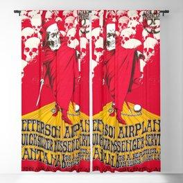 1968 Winterland Ballroom Rock and Roll Festival Concert Gig Vintage Poster Blackout Curtain