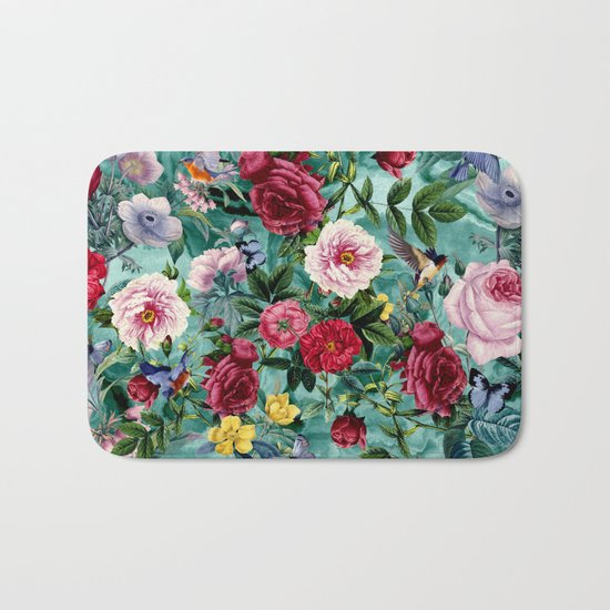 Surreal Garden Bath Mat