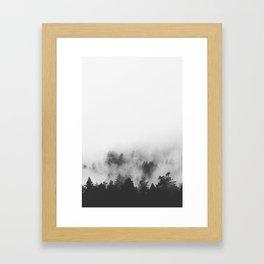 OBSERVING MYSTERY, VANCOUVER ISLAND 2K16 Framed Art Print
