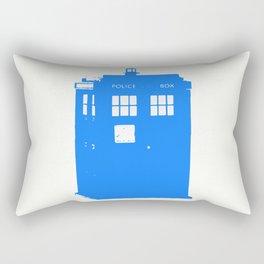 Doctor Who: Stamped Tardis Rectangular Pillow