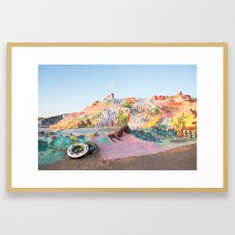 Salvation Mountain, Niland, CA Framed Art Print