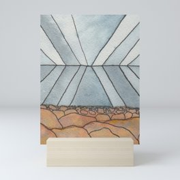 Sea and Sky Reflection Mini Art Print