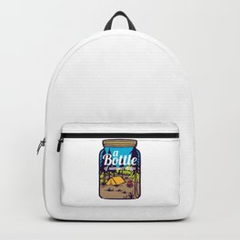 A Bottle of Happyness Backpack