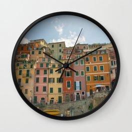 Colorful Cinque Terre 1 Wall Clock