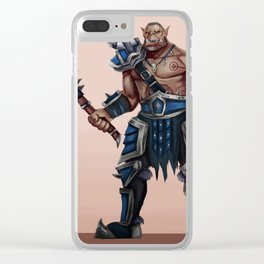 Warrior Clear iPhone Case