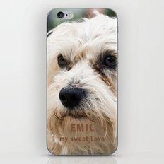 EMIL my sweet Love iPhone & iPod Skin