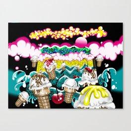 Ice Cream Dream3 Canvas Print