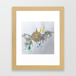 Meraki Mandala Framed Art Print