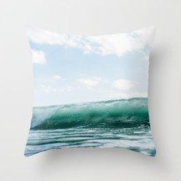 The Ocean Calms My Restless Soul Throw Pillow