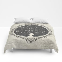 Sense And Sensibility - It's What You Do Comforters