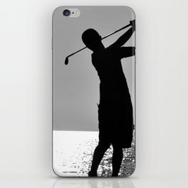 Swing by Sunset iPhone Skin