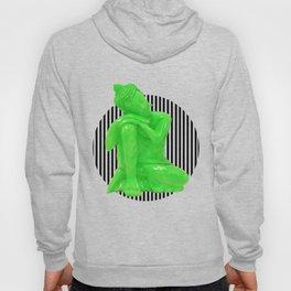 My  inner Green Buddha | Namaste Pop Art Buddha Hoody