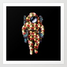 Deep Space Fashion Art Print