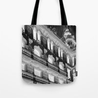 madrid Tote Bags featuring Madrid by Kellabell9