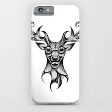Henna Inspired Stag Head by Ashley-Rose Standish Slim Case iPhone 6s