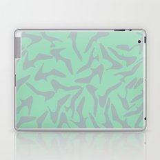 Shoes Zoom Mint and Grey  Laptop & iPad Skin