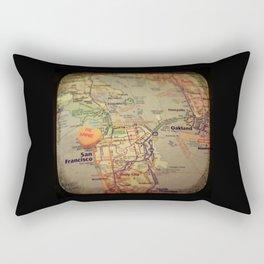 Be Mine San Francisco Rectangular Pillow
