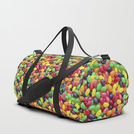 Jelly Bean Candy Photo Pattern Duffle Bag
