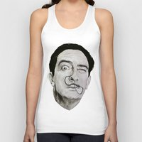 salvador dali Tank Tops featuring Salvador Dali by Breanna Speed
