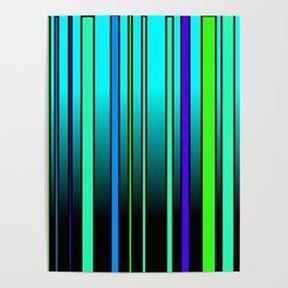 Fresh Blue Poster