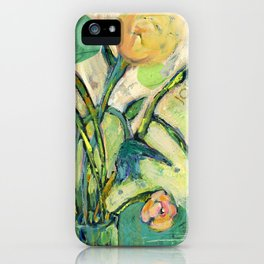 'Joy' Contemporary Floral   iPhone Case