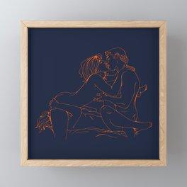 Multiple love Framed Mini Art Print