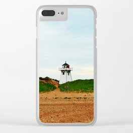 Stanhope PEI Lighthouse and Beach Clear iPhone Case
