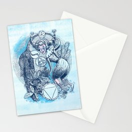 Throat Chakra - Witches of the Nine Worlds Stationery Cards