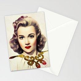 Carole Landis, Vintage Actress Stationery Cards