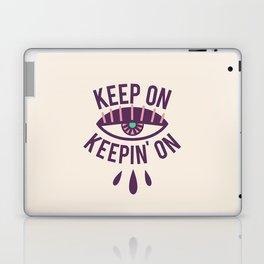 Keep On Keepin' On Ivory Laptop & iPad Skin